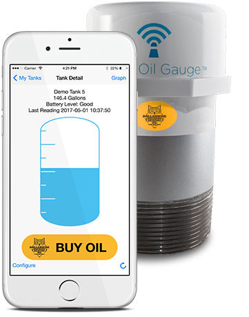 Smart Oil Gauge and App
